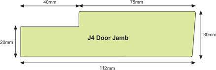 Architrave Jamb J5T Architrave Jamb J4  sc 1 st  Hoults Doors & ABOUT DOOR JAMBS | Hoults Doors Quality Doors and Prehanging ... pezcame.com