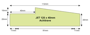 Architrave Jamb J5T Architrave ...  sc 1 st  Hoults Doors & ABOUT DOOR JAMBS | Hoults Doors Quality Doors and Prehanging ...